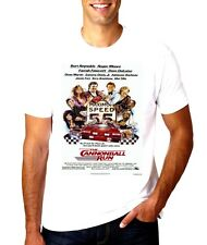 NEW Classic movie the cannonball run movie poster T-SHIRT