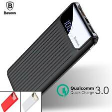 Quick Charge 3.0 Power Bank 10000mAh Dual USB LCD Powerbank Battery Charger