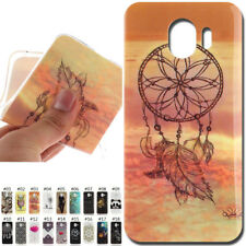 For Samsung Galaxy Painted Cover Silicone TPU Rubber Protective Soft Case Skin
