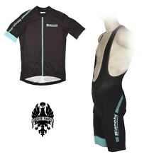 COMPLETO CICLISMO BIANCHI HEXÁGONO 18 color NEGRO AZUL bianchi