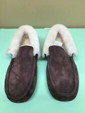 UGG AUSTRALIA Men's GRANTT Slippers Brown Grizzly M/GRZ Size 8