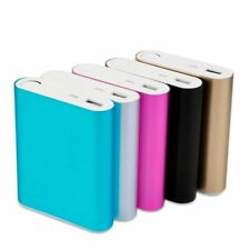 Compact Battery Powered 10000mAh USB Power Bank Battery Box For iPhone & Android