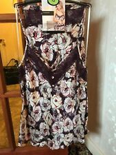 *NEW* Stunning BNWT M&S Rosie @ Autograph purple mix cami & french knickers