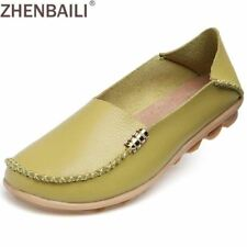 Hight Quality Genuine Leather Women Casual Shoes 2017 Fashion Candy Colors Comfo