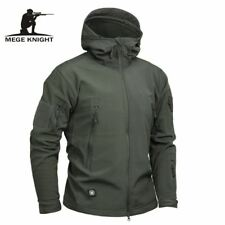 Mege Brand Clothing Men Military Jacket US Army Tactical Sharkskin Softshell Aut