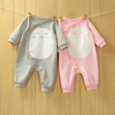 2017 High Quality Newborn Baby Romper Style Totoro Baby Spring Romper Soft Comfo