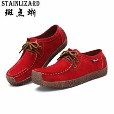 2017 New Fashion Woman Casual Shoes Wild Lace-up Women Flats Warm Comfortable Co