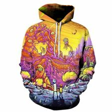 Rick and Morty 3D Hoodies Brand Hoodies Men Sweatshirts Game Hooded Tracksuits F
