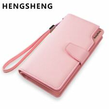 Hot Fashion Female wallets High-quality PU Leather Wallet Women Long Style Cowhi