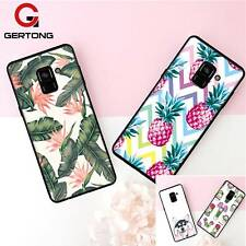 Funky Leaf Pineapple Dog Cactus Design Case Cover Samsung Galaxy S9 S8 S7 S6 +
