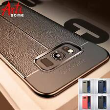 Carbon Leather Texture Shockproof Case Cover For Samsung Galaxy S8 S7 Note 9 8