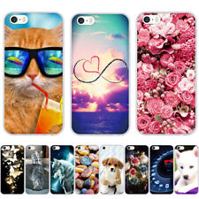 Over 50 Designs - Cute Animals 3D Pattern Soft Case Cover - Apple iPhone 5 5S SE