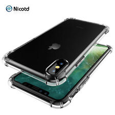 Nicotd TPU Case For iPhone XS Max Soft Case Clear Thin Cases For iPhone XS MAX