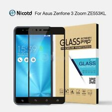 Nicotd Colorful Full Cover Tempered Glass For ASUS Zenfone 3 Zoom ZE553KL 5.5