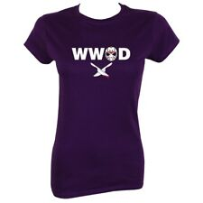 T-shirt What Would Jason Do Women's Purple