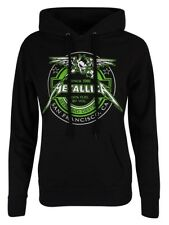 Metallica Hoodie Fuel Women's Black