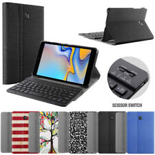 For Samsung Galaxy Tab A 8.0 Slim Shell Stand w/ Keyboard Case 5 Color