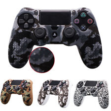 Camouflage Silicone Soft Case Skin Grip Cover For PlayStation 4 PS4 Controller