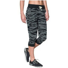 Under Armour Ladies Triblend Printed Capri trousers Leggings 1264267/001
