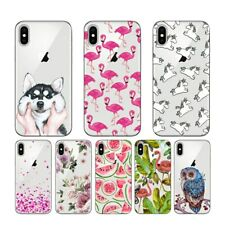 Cool Funky Graphic Design Cartoon Silicone Case Cover For iPhone X 8 7 6 6S Plus