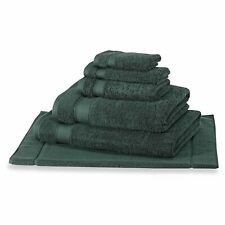 Green 100% Hygro Cotton Towel, Extra Soft & Absorbent (Individual or Set)
