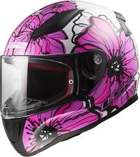 LS2 FF353 Rapid Poppies Casco Moto Casco Casco Integrale Road Sport Touring