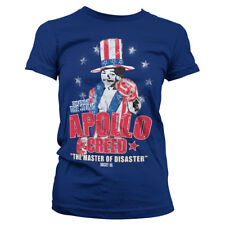 Officially Licensed Rocky - Apollo Creed Women's T-Shirt S-XXL Sizes