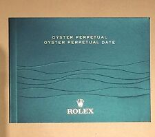 ROLEX OYSTER PERPETUAL DATE BOOKLET LIBRETTO anno 2012 Eng - 2014 Ita