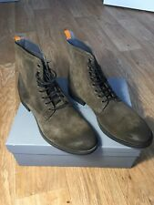 Sand Birch Suede Lace Up Boot | Frank Wright Men's Boots