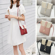 Women Messenger CrossBody Shoulder Handbag Tote Mini Leather Satchel Bag Purse F