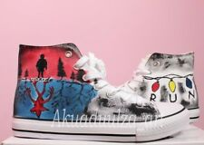 Stranger Things Inspired Hand Painted Shoe / Hand Painted Personalised Unisex