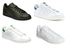 Adidas Originals Stan Smith Mens Trainers Lace up Casual Shoes Black White Size