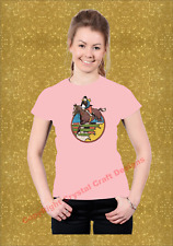 Horse Show Jumping Transfer T-Shirt