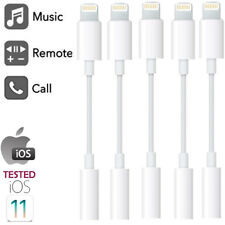 Lightning to 3.5mm / Lightning AUX Adapter Headphone Jack For iPhone X 7 8 XR XS