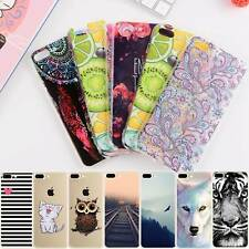 20 Designs Art/Cartoon Painting Silicone Case Cover For iPhone XS Max XR X 8 7 6