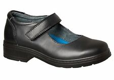 New Grosby Danielle Jnr Kids Leather Mary Jane School Shoes