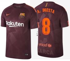 NIKE ANDRES INIESTA FC BARCELONA THIRD JERSEY 2017/18.