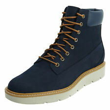 Timberland Womens 6 Inch Lace Up Boots Navy TB0A1GXU