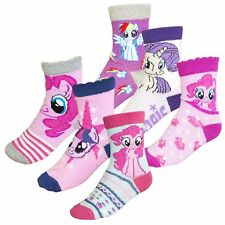 My Little Pony Hasbro con Licencia Calcetines Niñas 3-PACK Pares Set Stock