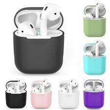 Protective Silicone Case For Apple AirPods Bluetooth Wireless Earphones Air Pods