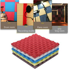 Acoustic Foam Panel Sound Stop Absorption Sponge Studio KTV Soundproof Pad Mat X