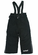 Scout Schneehose Skihose Thermohose schwarz