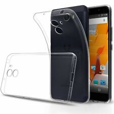 Ultra Thin Slim Clear Silicone Gel Case Cover For Wileyfox Swift 2 2X & Spark X