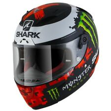 Shark Race-R PRO Lorenzo Monster Mat 18 KRG Replica Matt Black Red Green