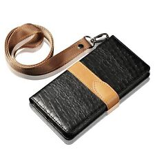 Luxury Wallet Crocodile PU Leather Stand Case Cover For iPhone X XR XS Max 6 7 8