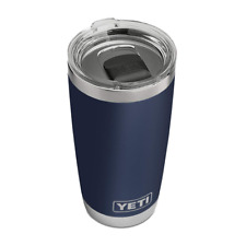 Yeti Rambler Vacuum Insulated Tumbler, MagSlider Lid, Keeps Drinks Cold, Warm
