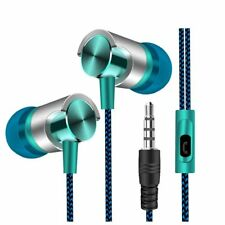 HIPERDEAL Headset Universal 3.5mm In-Ear Stereo Earbuds Earphone With Mic For