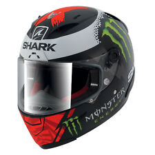 Shark Race-R PRO Lorenzo Monster Mat KRW Replica 2017 Matt Black Red White