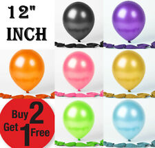 "25X PEARL LATEX BALLOON 12"" Filled Helium  Baloon Birthday Party Wedding Decor"