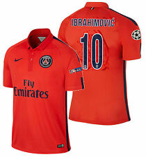 Nike Ibrahimovic Paris Saint-Germain Psg UEFA Champions League 3RD Maglia 2015